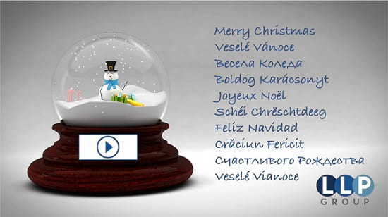LLP Group Christmas card 2019