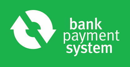 Bank Payment System logo green