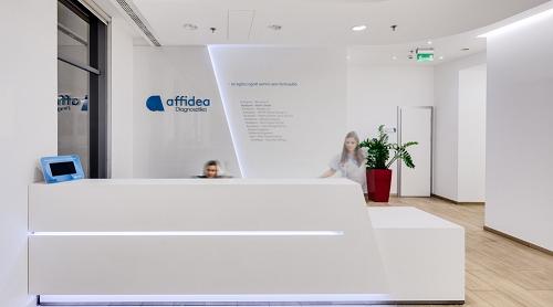 Photo showing Affidea reception