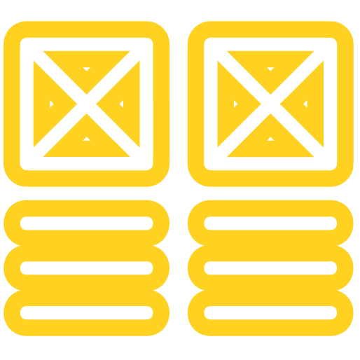 Materials Management icon yellow