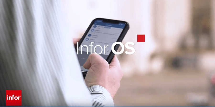Infor OS video background image