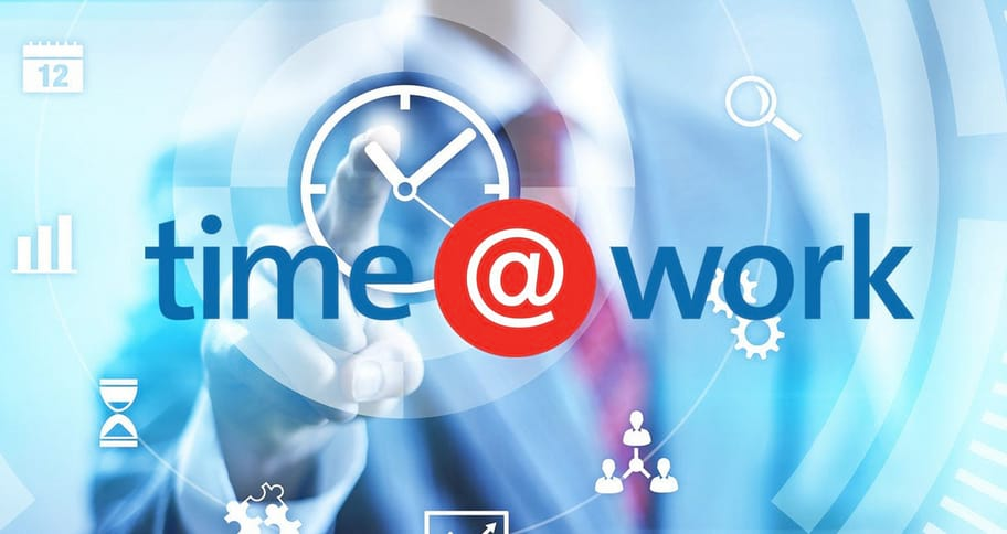 time@work video background image