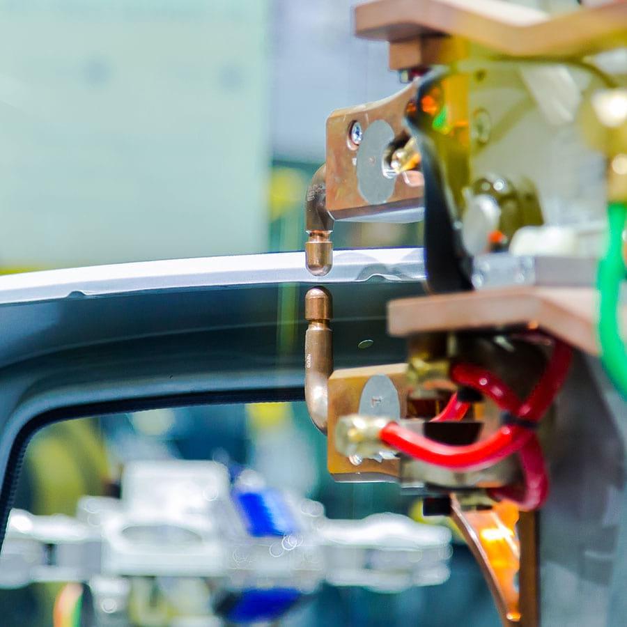 Automotive manufacturing - illustative picture