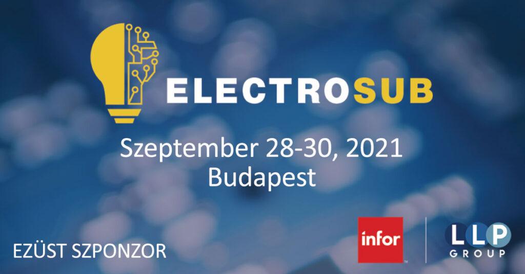ELECTROSUB Konferencia és Kiállítás Budapest 2021