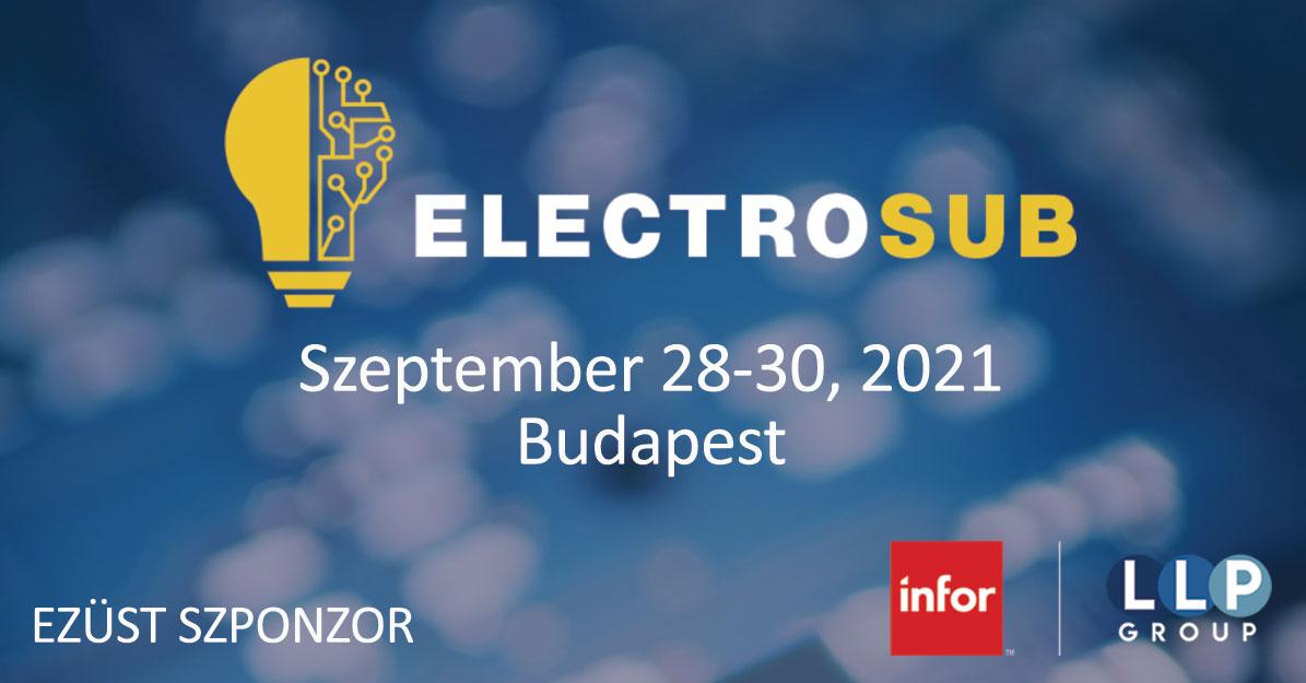 ELEKTROSUB Konferencia és Kiállítás Budapest 2021